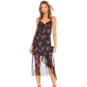 1. State Wildflower ruffle slip floral dress NWOT